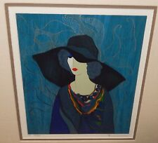 "ITZCHAK TARKAY ""SARAFINA"" LIMITED EDITION HAND SIGNED COLOR LITHOGRAPH"