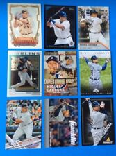 Lot of 9 Diff . 2018 & older TOPPS . MIGUEL CABRERA  . SUPER STAR  . TIGERS .  B