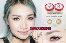 Contact Lenses MIMI GEO Color Soft Big Eye Cosplay UV Protection Lens Soda Brown