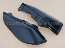 Black Mid-Frame Air Deflectors For Harley Touring Road King Tri Glide 2009-2017