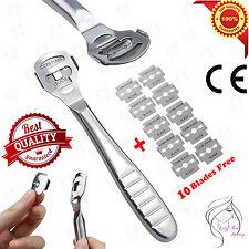Hard Dead Skin Corn Callus Remover Shaver Cutter Pedicure Foot Tool 10 Blades