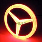 4D LED Car Tail Logo Red Light Badge Emblem Light For Mercedes-Benz S350 S300L