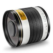 walimex pro 500/6,3 DSLR Spiegeltele Objektiv für Samsung NX, weiß
