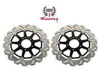Front Brake Disc Rotors Set For Suzuki Hayabusa 1300 TL1000R TL1000S Wave Rotors