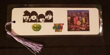 "Rock & Roll (60's -70's) Bookmark Hand Made - Choose Artist (A - E) 5 ml - 8""x3"""