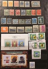 Belle Collection Estonie avec Occupation Allemande, Blocs... Voir Photos !