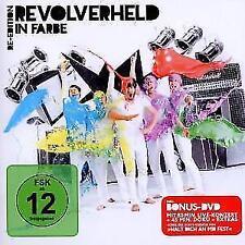 CD DVD Album In Farbe Re-Edition von Revolverheld Halt Dich An Mir Fest NEUWARE