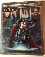Thor (4K UHD, Blu-ray, Digital HD, Steelbook) Brand New