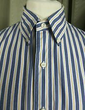 Lauren by Ralph Lauren Custom Fit Button Down Collar Shirt - Large 16-40/41