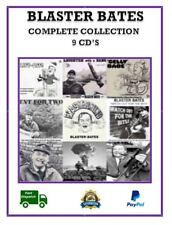 Blaster Bates Complete Collection 9 x CD's Comedy