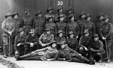 Photo. WW1. NSW Australia. Group of Soldiers