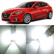 Alla Lighting Front Turn Signal Light 2357A White LED Bulbs for 2003~08 Mazda 6