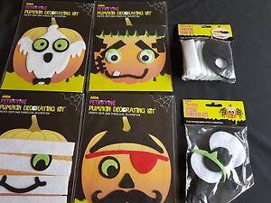 Halloween Accessories - Halloween Pumpkin Decorating Kit Range