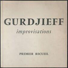 "G. I. GURDJIEFF - Improvisations - Premier recueil - 25 cm / 10"" Janus"