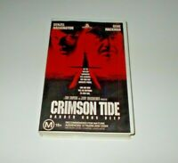 Crimson Tide VHS PAL Video Gene Hackman Big Box Ex Rental