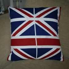 Handmade Union Jack Cushion Covers, size 43cm x 43cm.