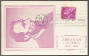 1965 US Abraham LINCOLN Unused Maxi Card