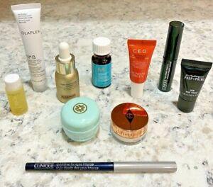 Sephora Beauty Samples Tatcha Sunday Riley Olaplex MAC Makeup Skincare Gift Lot