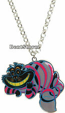 "Cheshire Cat DISNEY 21"" Alice In Wonderland Pendant Necklace Loungefly Jewelry"