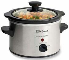 Elite Products MST-250XS 1.5 Qt Electric Slow Cooker