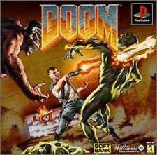 PS1 DOOM Japan PS PlayStation 1 F/S