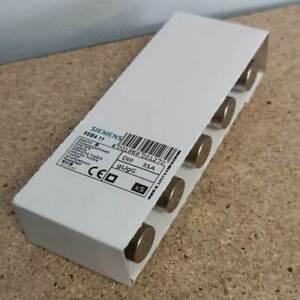 5 x Siemens 5SB4 11 DIAZED Sicherungseinsatz, Schmelzsicherung, 35 A, 500 V