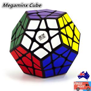 Megaminx Magic Cube Rubix Super Smooth Rubik Fast Speed Puzzle Rubics AU Stock