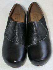 NEW Spring Step L'Artiste Gorgias-B Black Leather Slip-On Comfort Shoes 40