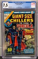 GIANT-SIZE CHILLERS #1 CGC 7.5 ORIGIN AND 1ST. APPEARANCE OF LILLITH