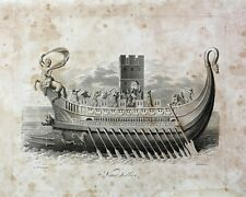 Rom Römer Marine Navy Galeere Sklave Ruder Legionär Mittelmeer Galionsfigur