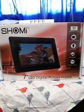 """SHOMi 7"""" LED Digital Picture Frame"""
