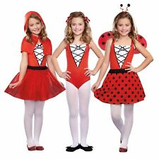 Storybook Beauties 3-in-1 Red Riding Hood, Gymnast, Ladybug Costume Large #5177