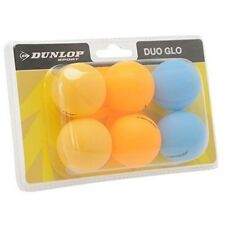 Confezione da 2 Unisex Dunlop Duo Glo Tavoli Palline da Tennis 6 Pack Ping Pong Gioco Divertente Sport