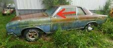 1964 1965 64 65 Gs Skylark Gto Chevelle Cutlass Lemans 2 Door Post Molding Trim