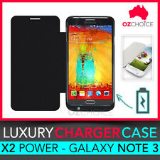 NEW Samsung Galaxy Note 3 III Backup Battery Charger Case Cover Power 4500mAh