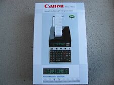 Brand New Canon MP27-MG Green Heavy Duty Desktop Printing Calculator