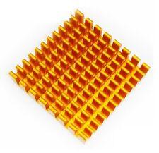5pcs 45x45x10mm Aluminium Heat Sink Processorpower Transistoricfetpasupply