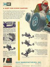 Vintage Beautiful 1960's Rupp Dart Kart Go-Kart Ad