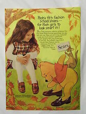 1970 Magazine Advertisement Page For Sears Winnie-The-Pooh Shoes Vintage Ad