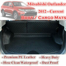 Tailor Made Boot Liner Cargo Mats Cover 7 Seats Mitsubishi Outlander 2012 - 2020