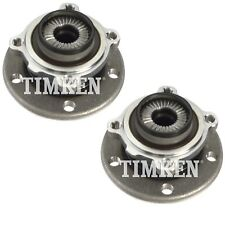 Pair Set of 2 Front Timken Wheel Bearing Hub Kit for BMW F22 F23 F31 F34 F36 AWD