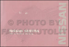1989 Nissan Sentra Owners Manual Original OEM Owner User Guide Book E SE XE
