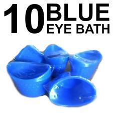 EYE BATH (x 10) EYE FLUSH WASH EYE CUP FIRST AID