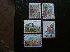 MONACO - timbre yvert et tellier n° 987 a 991 n** (A10) stamp