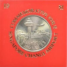Singapore 1981 5 Dollars, Commemorative Issue for New Changi Airport