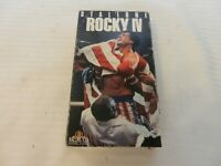 Rocky IV (VHS, 1993) Sylvester Stallone, Burt Young, Dolph Lundgren, Talia Shire