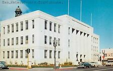REDWOOD CITY, California  CA   SAN MATEO COUNTY COURT HOUSE   1950s Postcard