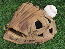 """Vtg G15T MacGregor Baseball Softball Mitt Glove RHT 10-1/2"""" Rod Carew Endorsed"""