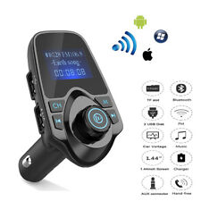 1X Wireless In-Car Bluetooth Hands Free FM Transmitter Radio Adapter USB Charger