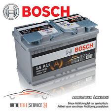 BOSCH org. 12V 80-ah 800A Batterie Start - Stop Voiture AUDI A3 A4 2.0 TDI